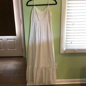White Banana Republic Maxi dress